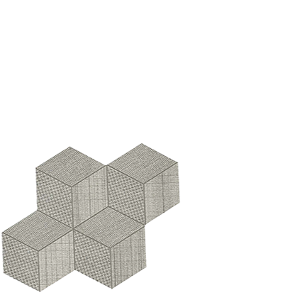 room hexagon mosaic pearl porcelain italian floor tile