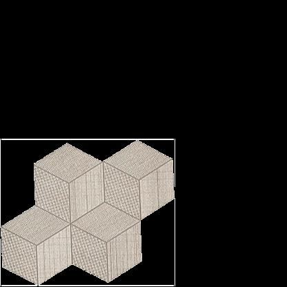 room hexagon mosaic cord porcelain italian floor tile
