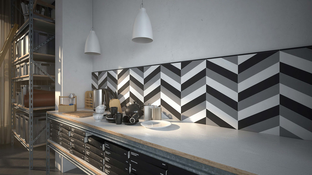 chevron mixed