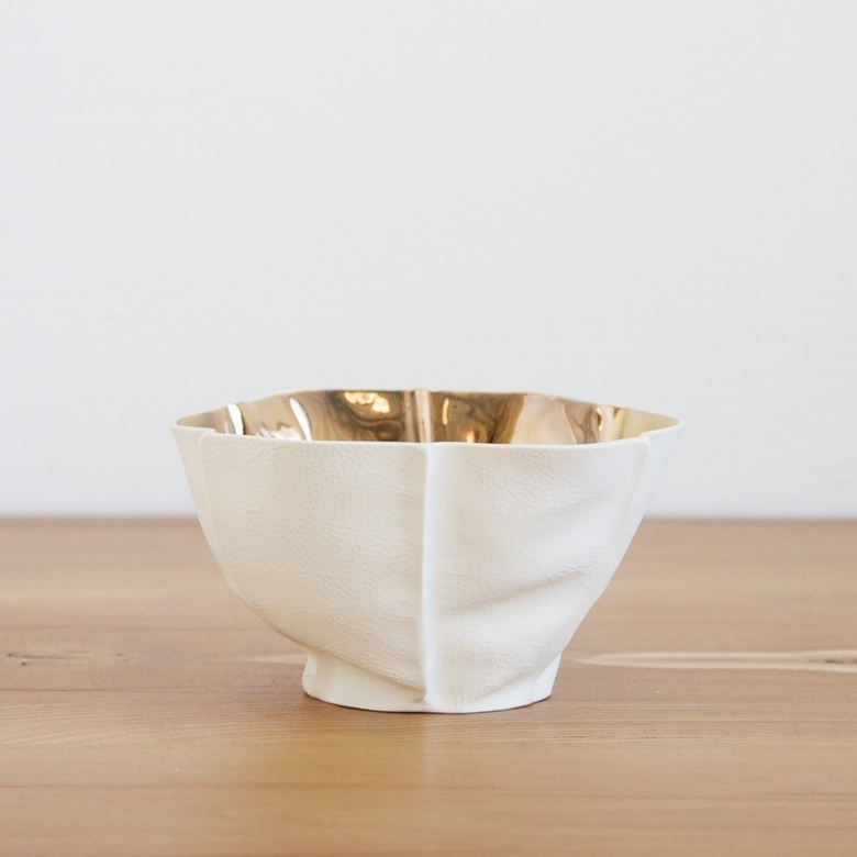"Kawa Small Bowl by Souda, $485 ""The touch of each of these ceramic pieces really translates the work that goes into them. They are beautiful objects."""