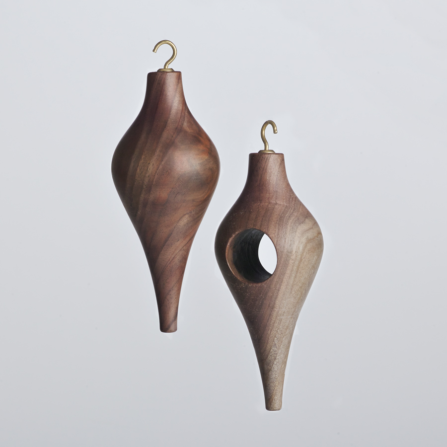 """""""Hand-Turned Wooden Ornament"""" by SHIMNA"""