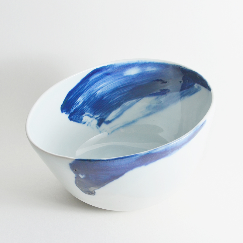 Blue Altered Bowl I