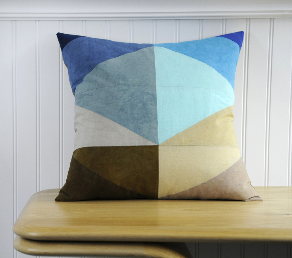Shoreline Throw Pillow, $215