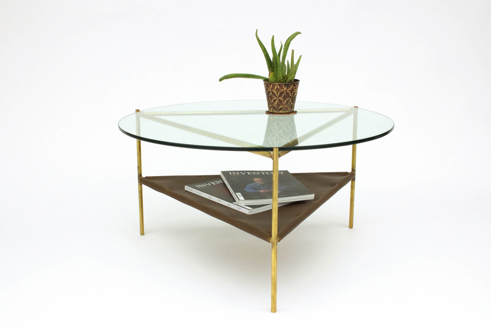 Bermuda Coffee Table - Brass