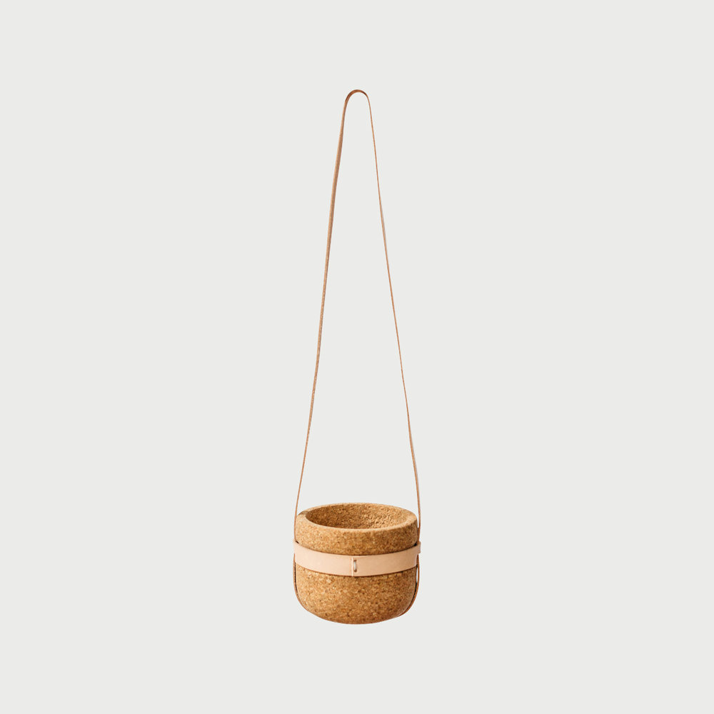Copy of Leather Strap Hanging Planter