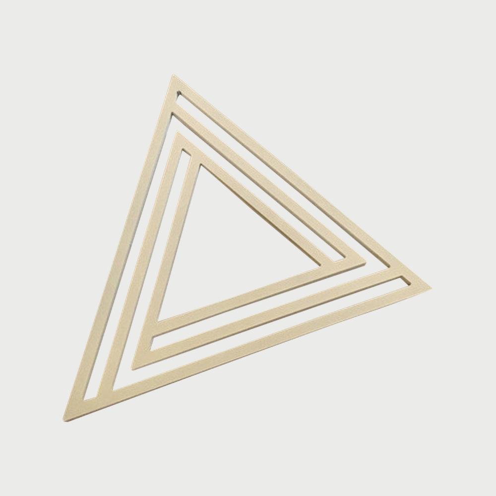 Copy of Triangle Trivet