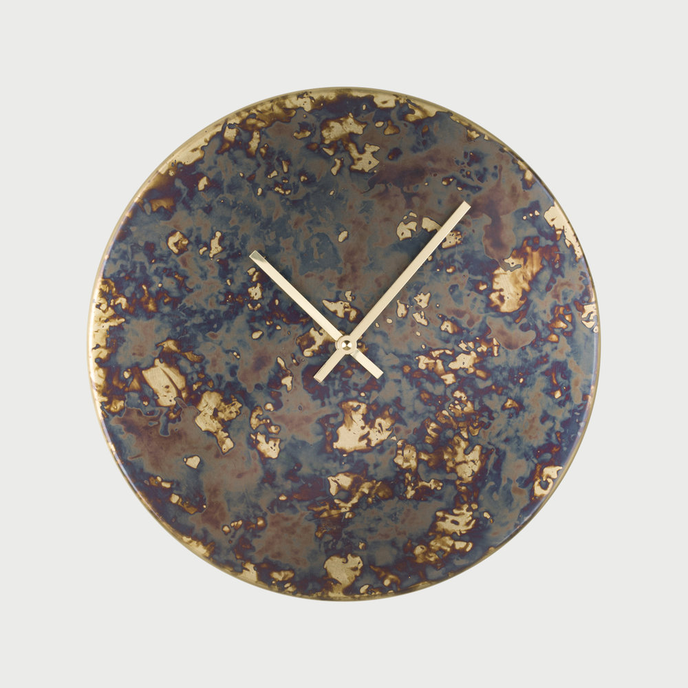 Copy of Patina Clock - Polychrome