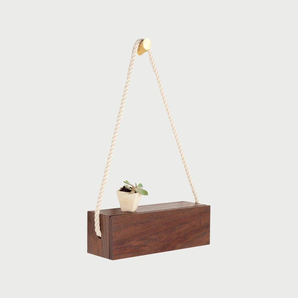 Walnut Rope Box - Rectangular