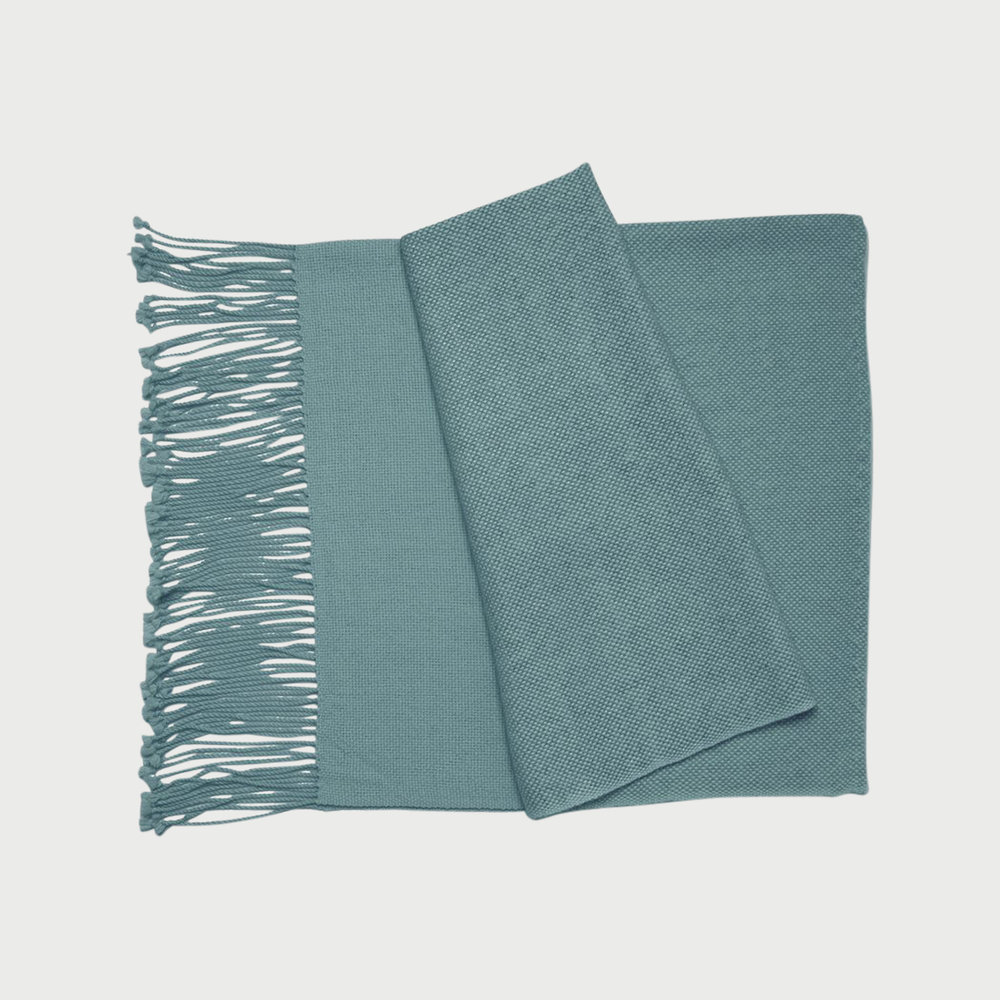 Copy of Awah Throw Blanket (Pagadoa Blue)