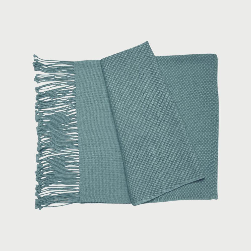 Awah Throw Blanket (Pagadoa Blue)