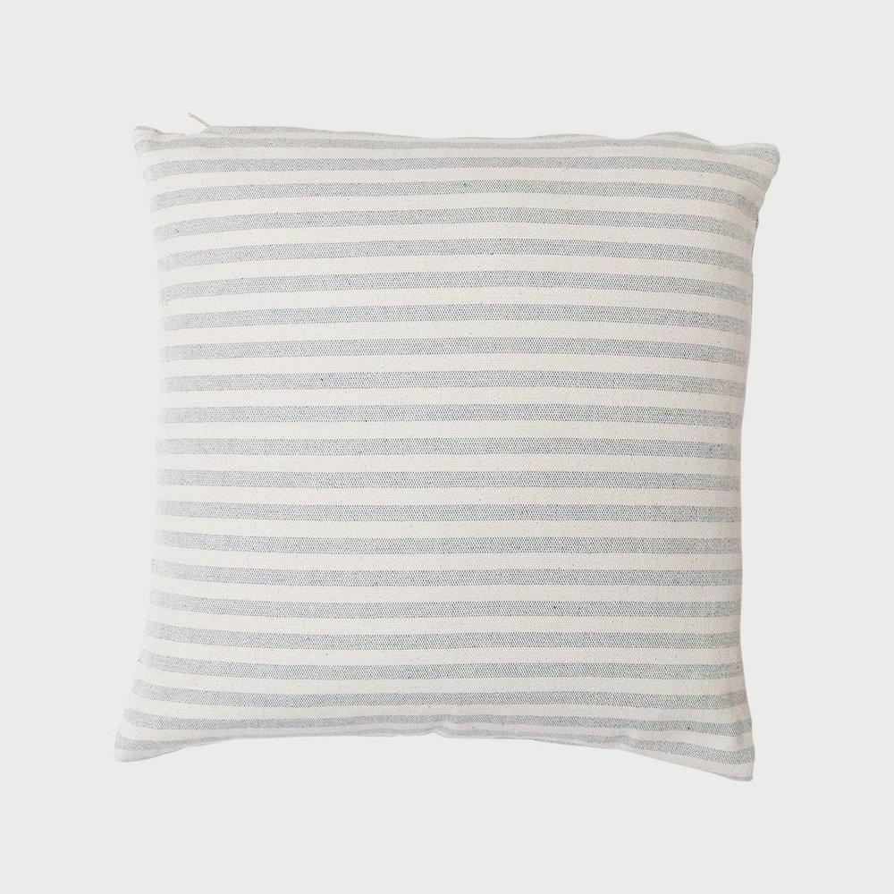 Procida Blue Stripe Pillow