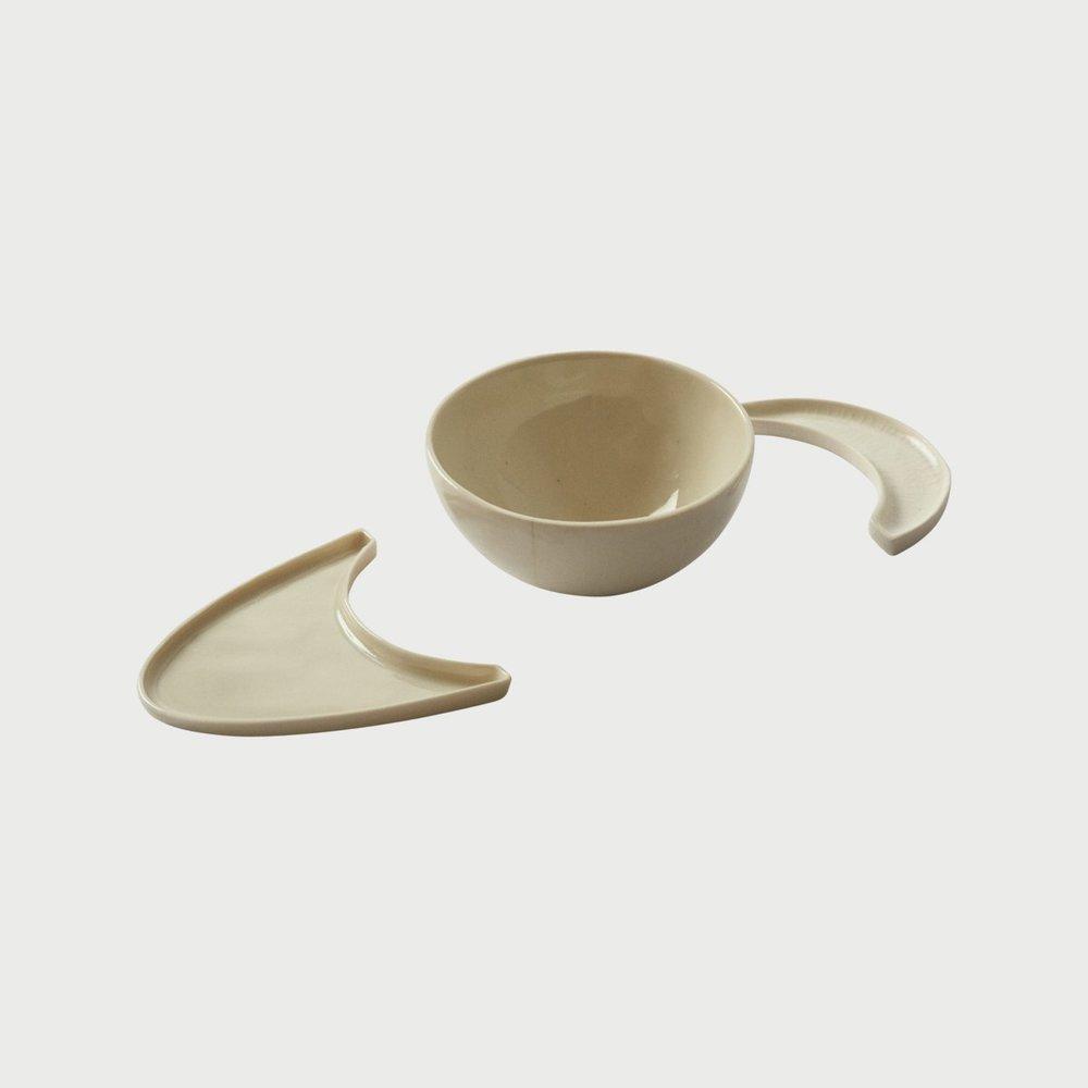 Crescent Moon plates + bowl set