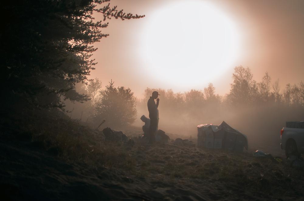 Foggy Mornings- Sudbury, ON