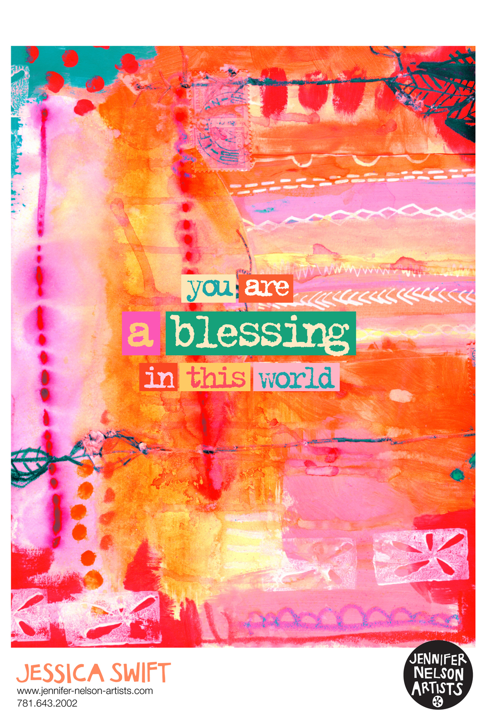 """Blessing in This World "" is available for licensing."
