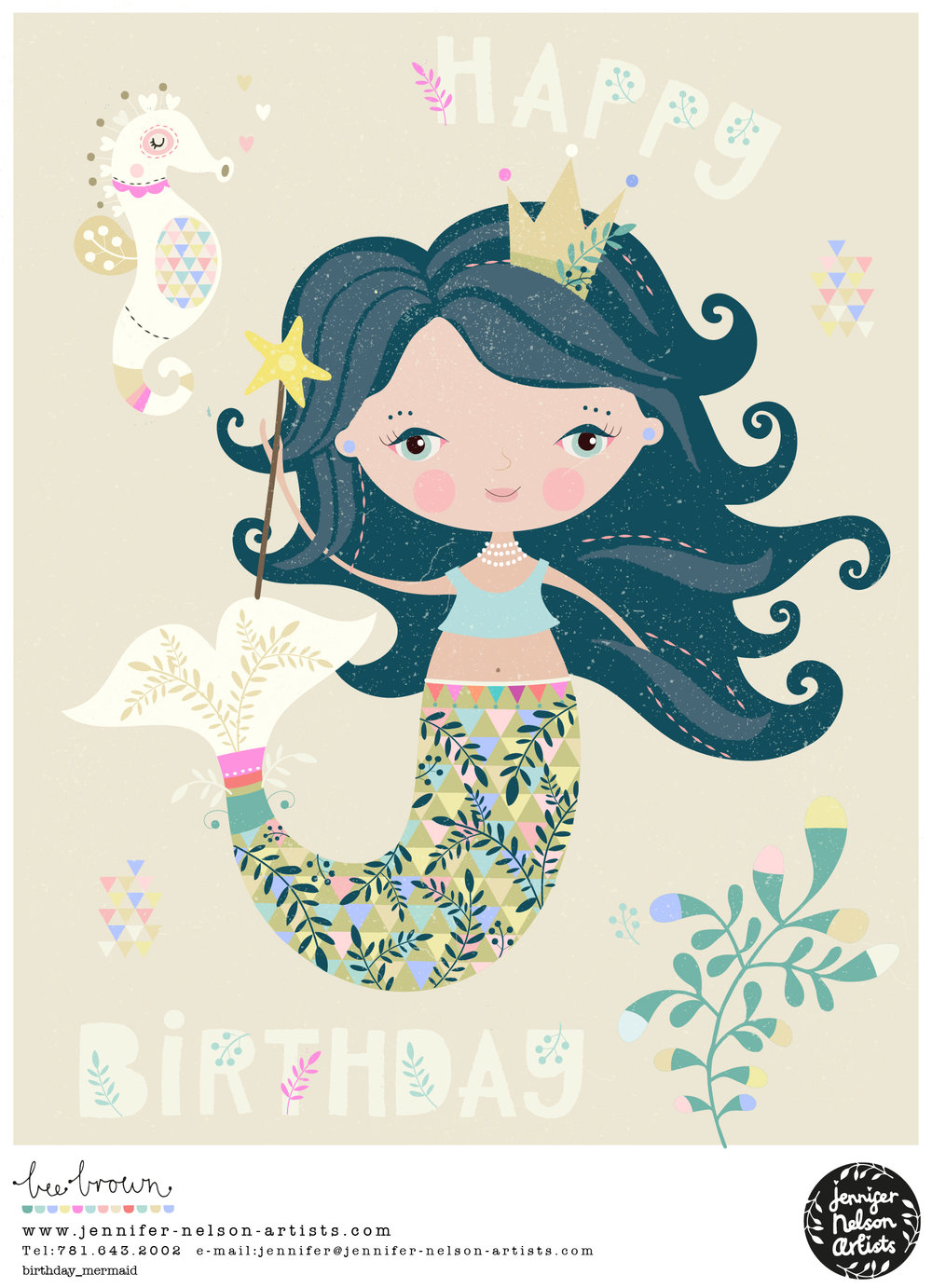 bee_brown_birthday_mermaid