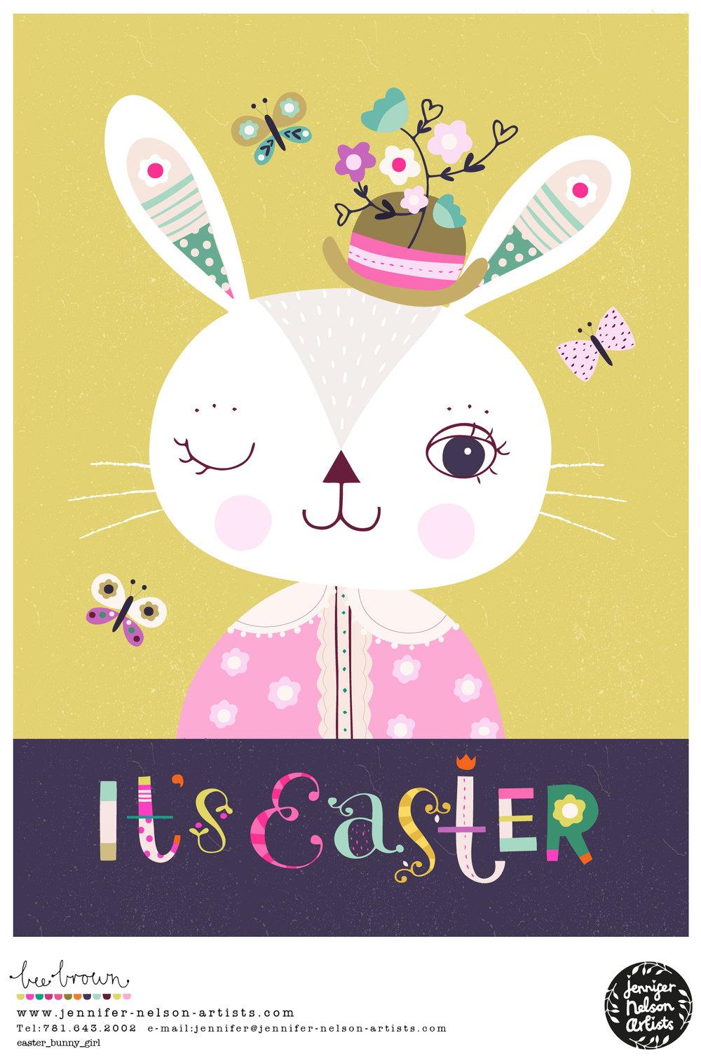 bee_brown_easter_bunny_girl
