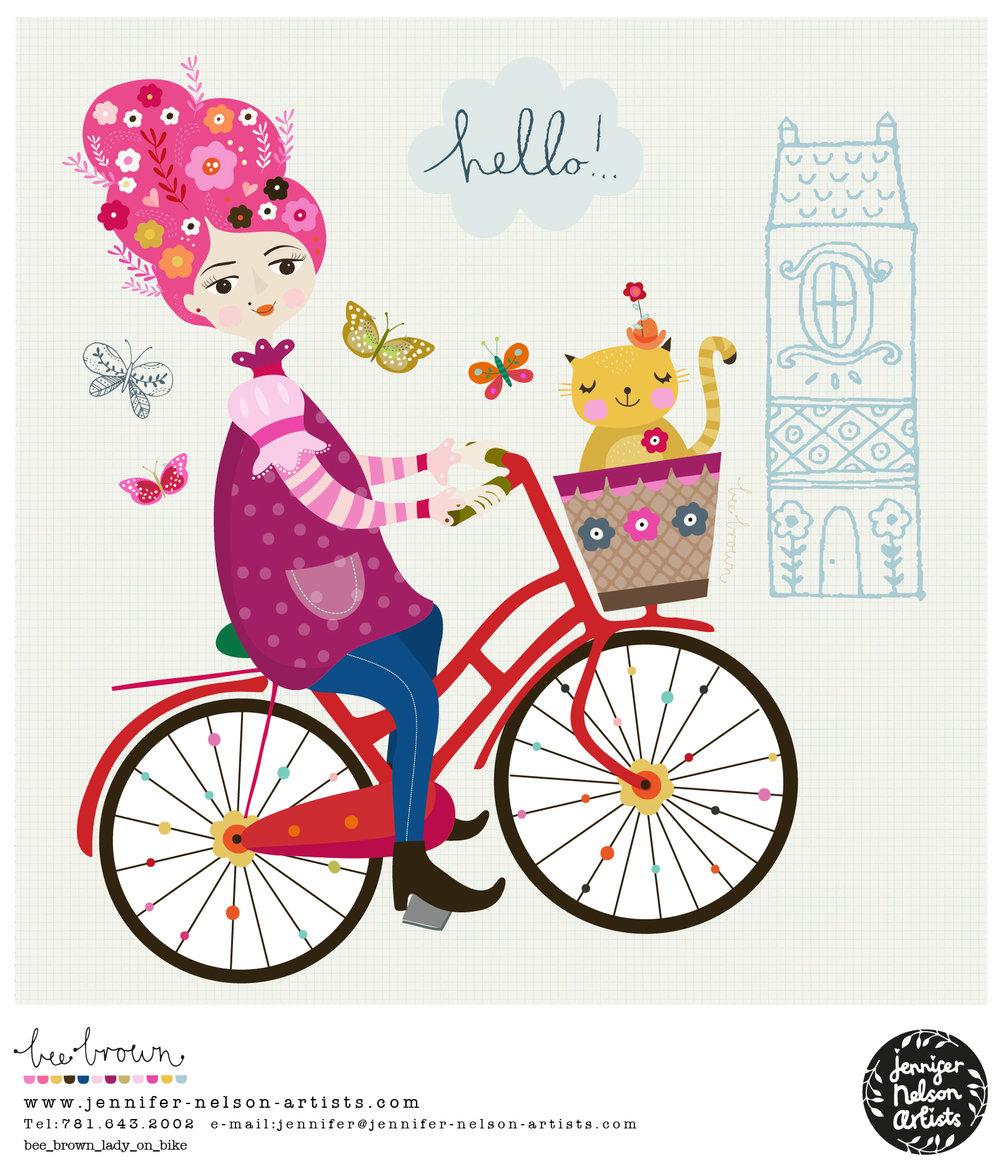 bee_brown_lady_on_bike