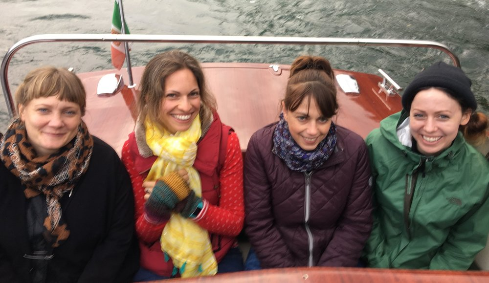 From left: Malin Gyllensvaan, Miriam Bos, Janna Krupinski and Rae Ritchie
