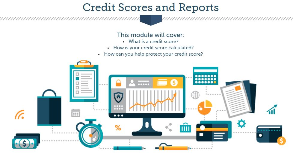 credit scores and reports screenshot