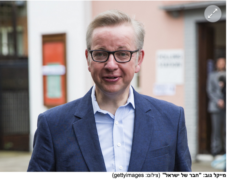 "Translation: Michael Gove ""A Friend of Israel"""