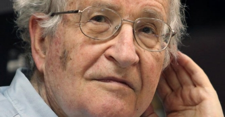 """Chomsky calls Trump voters """"White poor working class"""",is he misinformed or just lying?*"""
