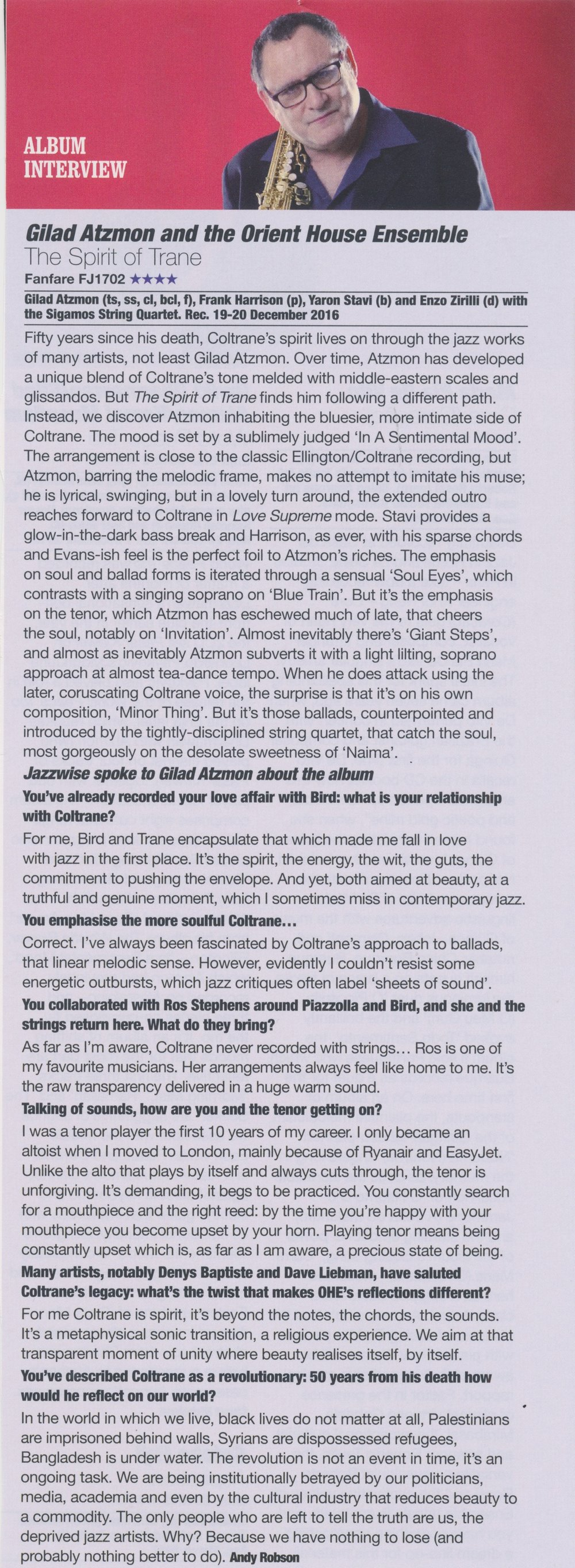 Jazzwise November 2017 album interview Gilad Atzmon.jpg
