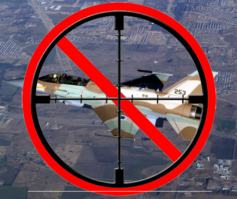 Syria possesses the ability to impose a no fly zone over northern Israel.