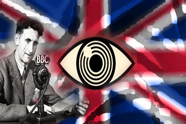 Orwell saw it coming...