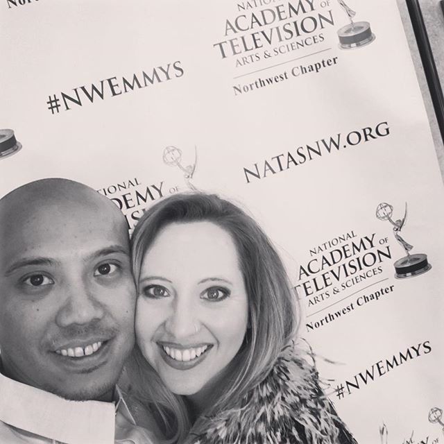 Proud wife. #nwemmys