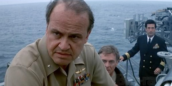 """This business will get out of control. It will get out of control and we'll be lucky to live through it."" – Fred Thompson (Admiral Josh Painter), ""Hunt for Red October"" (1990)"