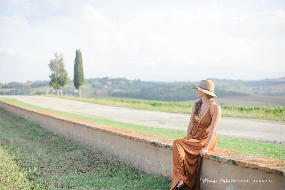Can you believe the beautiful golden light?!? Villa Loggio was a photographer's dream!