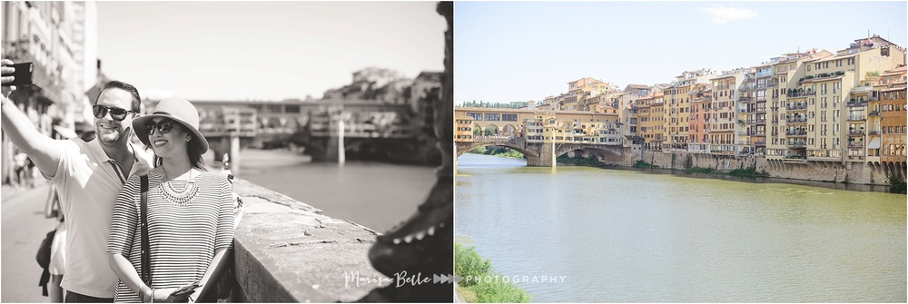 The famous Ponte Vecchio is always a great place for a photo op!