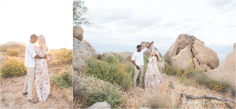 Tom's Thumb Trailhead | Scottsdale, Arizona | Phoenix Engagement and Wedding Photographer | www.marisabellephotography.com-16.jpg