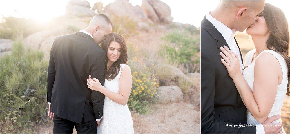 Tom's Thumb Trailhead | Scottsdale, Arizona | Phoenix Engagement and Wedding Photographer | www.marisabellephotography.com-28.jpg
