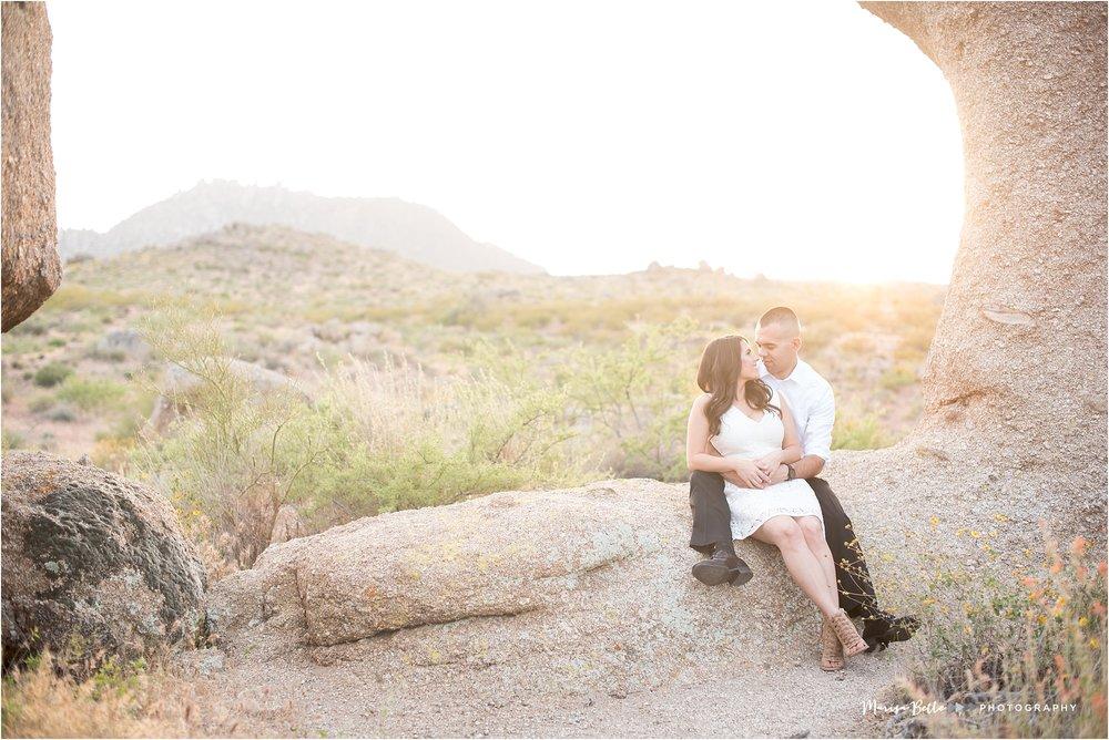 Tom's Thumb Trailhead | Scottsdale, Arizona | Phoenix Engagement and Wedding Photographer | www.marisabellephotography.com-38.jpg