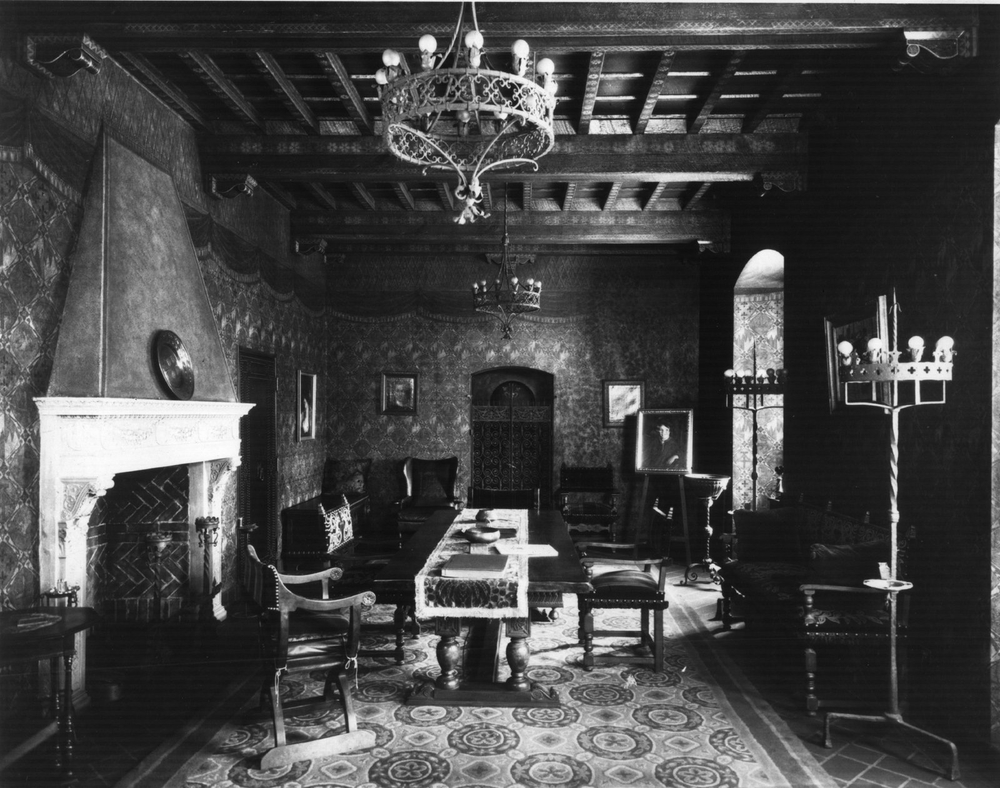 Our conference room as photographed in 1928 is based on the 14 century Palazzo Davanzati in Florence