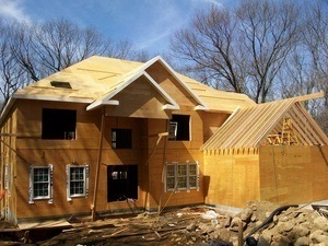 New Home Construction · Masonry · Frame walls · Frame Roof · Insulate entire home · Sheathing · Siding or Stucco · All trim · Prime and Paint