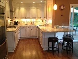 Kitchen Renovations    ·            Remove entire kitchen   ·             Insulate all walls and ceiling   ·            Sheetrock all walls and ceiling   ·            Install new floor   ·            Install cabinets   ·            Electrical   ·             Install new fixtures   ·             Install new backsplash   ·             Install all trim   ·             Prime all walls and ceiling   ·             Paint all walls and ceiling
