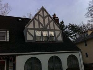 Custom Exterior · Trim- Remove damage and rotted trim · Install new flashing · Cut and prime new trim · Paint new trim