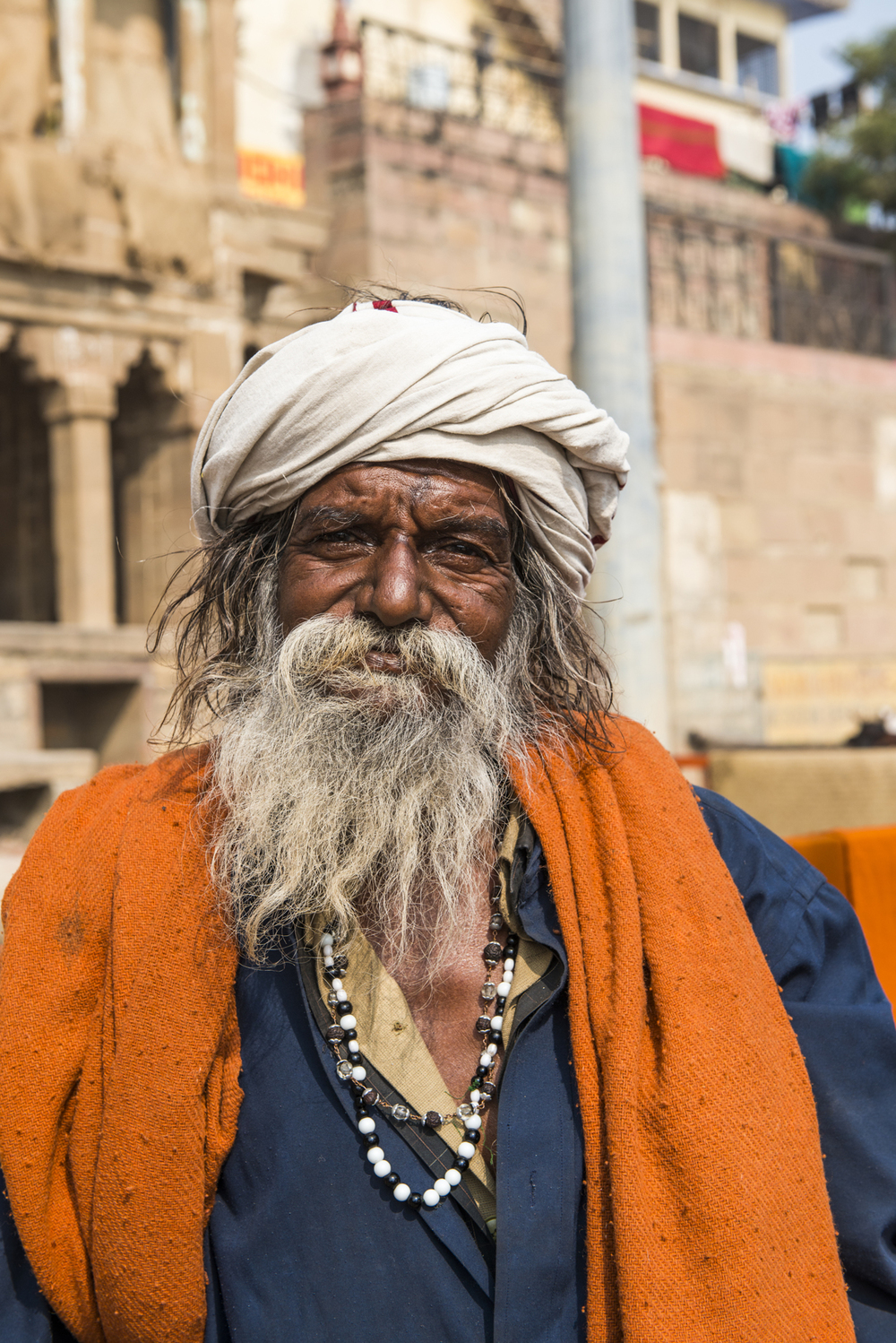 The holy city of Varanasi is filled with highly religious and spiritual people.