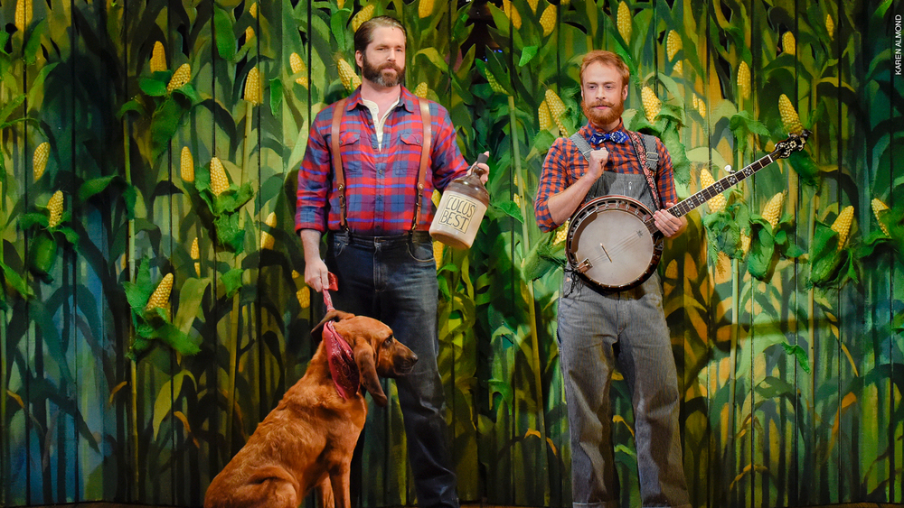 """Moonshine - That Hee Haw Musical,"" at Dallas Theater Center"