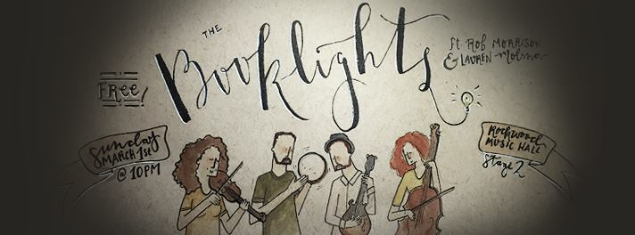 Booklights show poster (by Elanor Jarque)