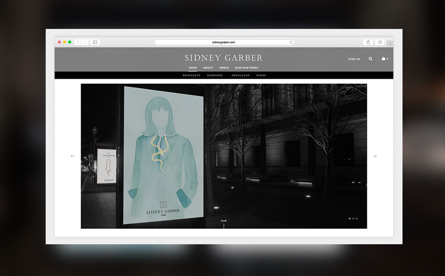 SIDNEY GARBER  Web Design