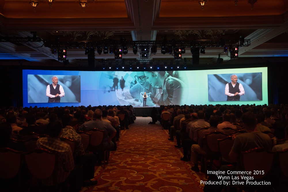 Imagine Commerce 2015 Wynn Las Vegas Produced by: Drive Production