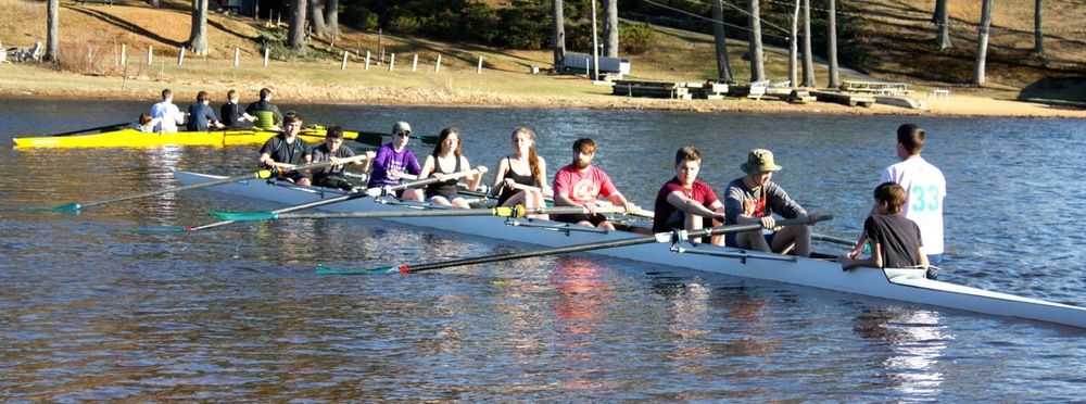 Eagle Hill Rowing spring 2015