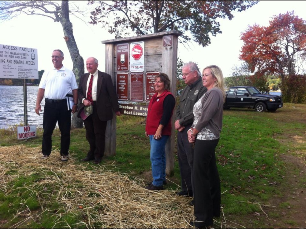 Boat Launch dedication, fall 2014