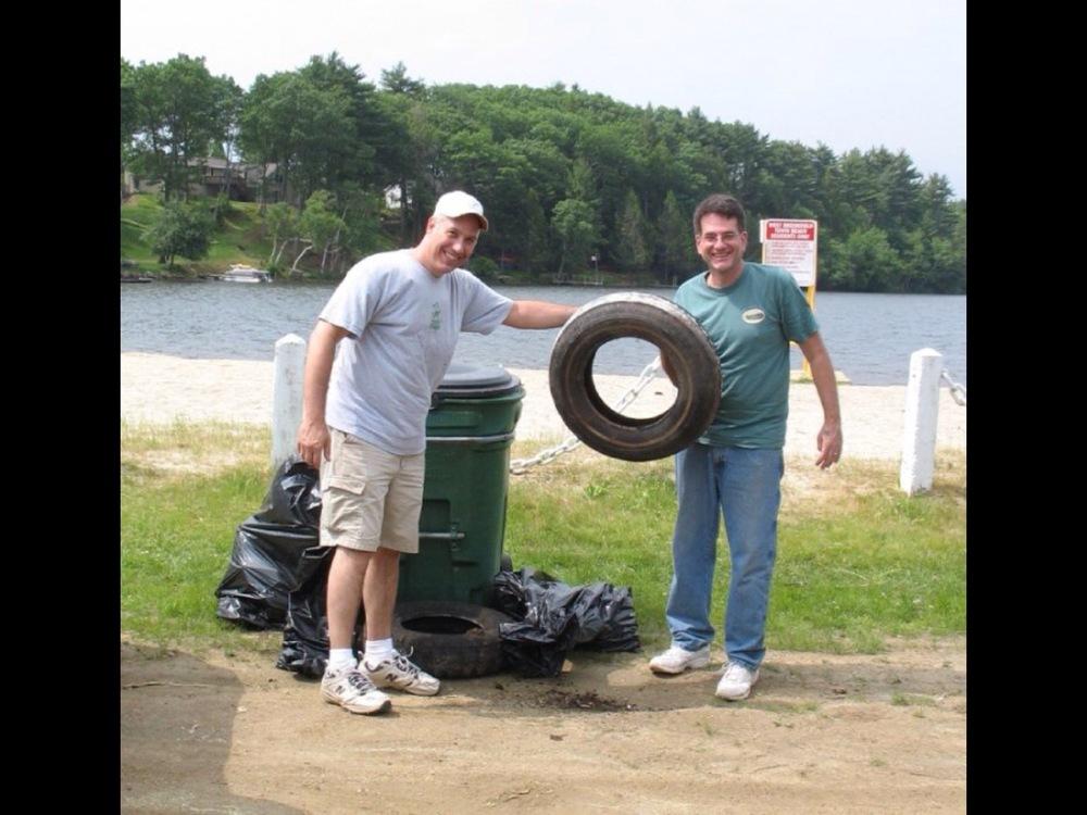 Lake cleanup 2010