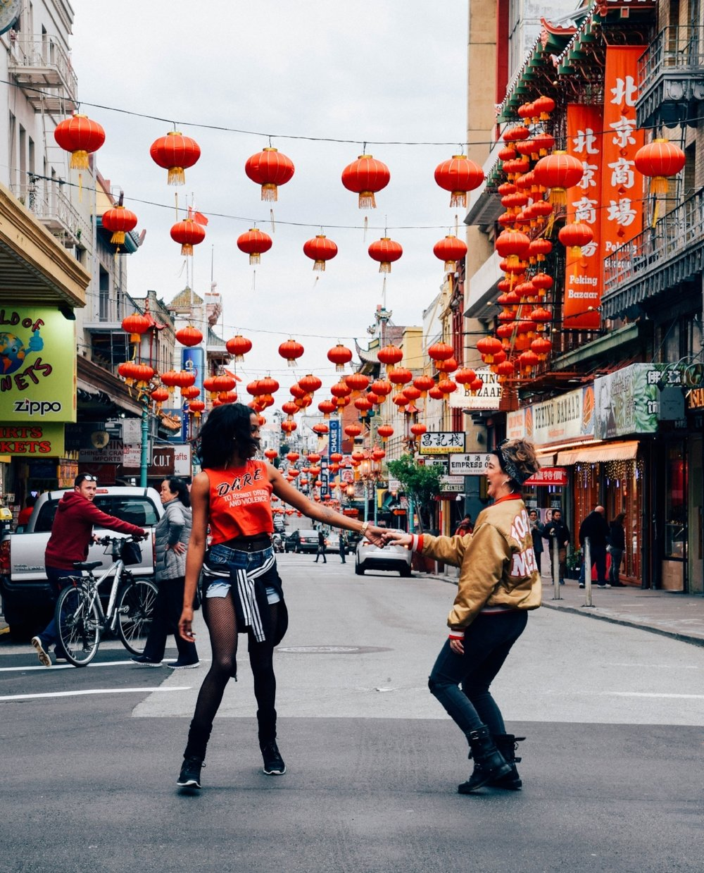 Chinatown: one rad photo location