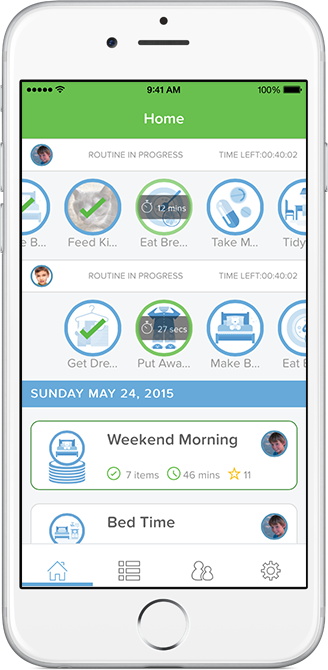 Real-time Monitoring for Parents