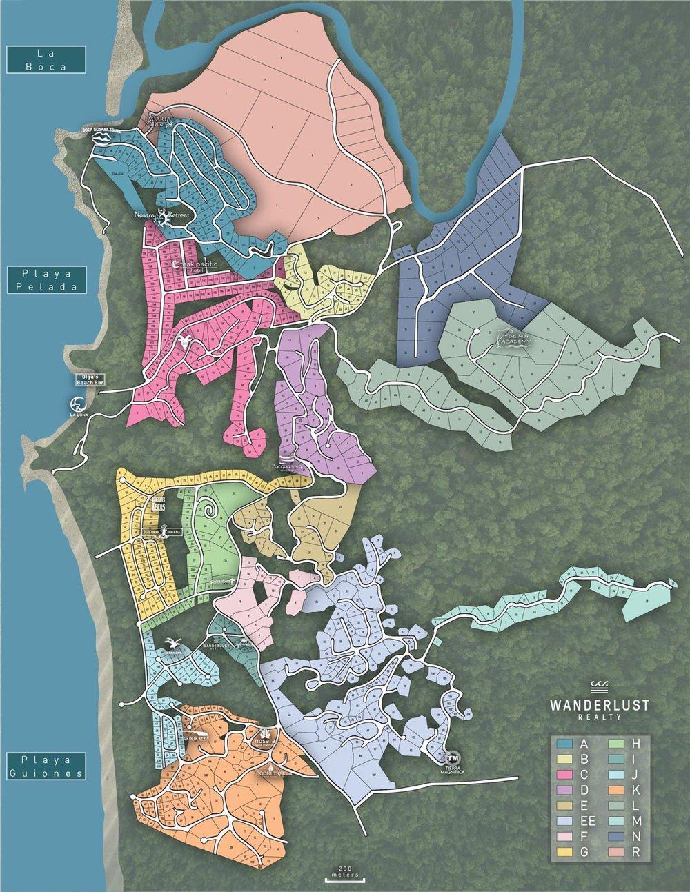 Nosara-Real-Estate-Map